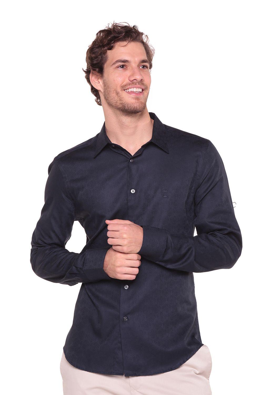 Camisa-Jacquard-Arenis---Unico---Tamanho-M