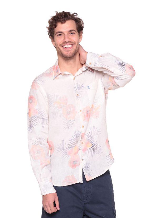Camisa-Linho-Asturias---Unico---Tamanho-XGG