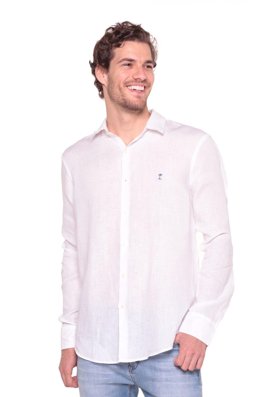 Camisa-Linho-Lorenzo---Branco---Tamanho-G