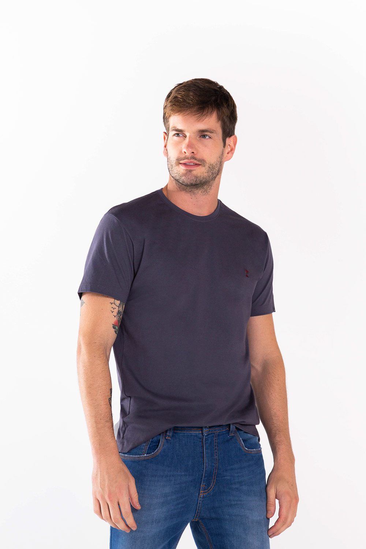 T-Shirt-Basica---Marinho---Tamanho-P