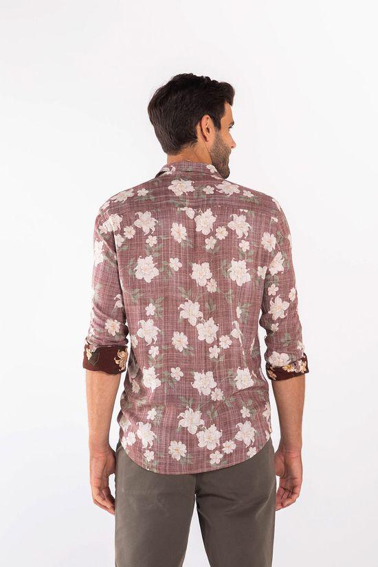 Camisa ML Estampada - Único - Tamanho P