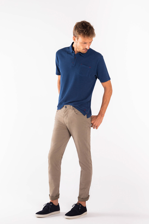 Calca-Five-Pockets-Philip---Kaki---Tamanho-38