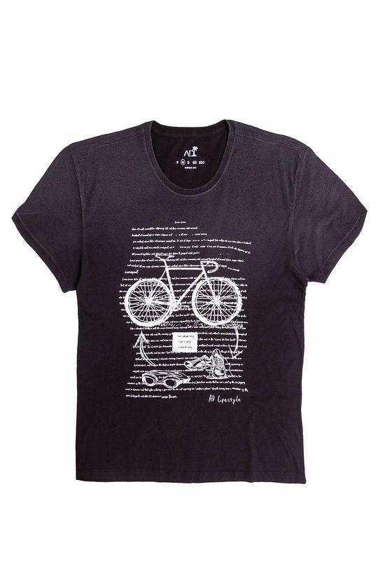 Tshirt-Silk-Amarilis-Black