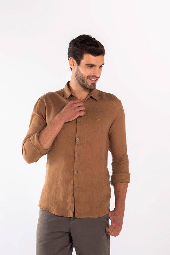 Camisa-Linho-ML-Ares---Mostarda-72732MO