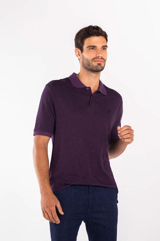 Polo-Jacquard-Purple---Ameixa-72532AX