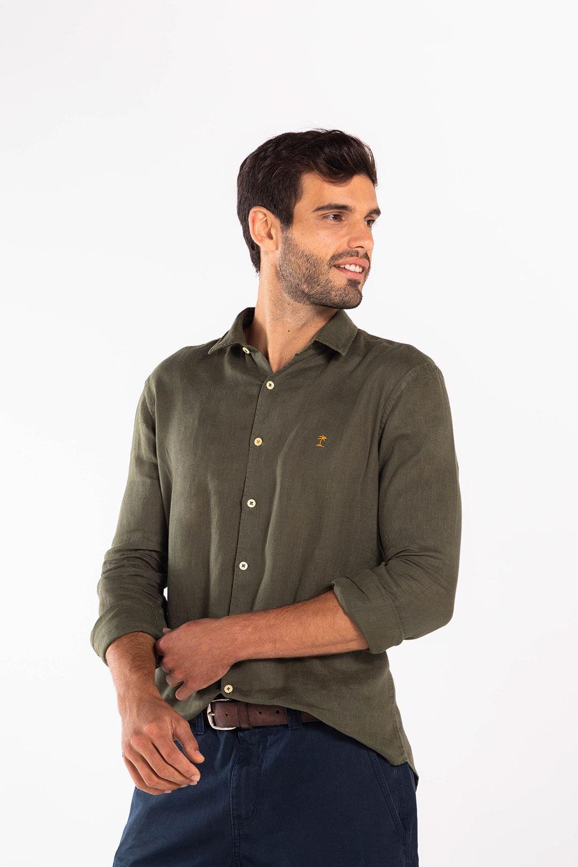Camisa-Linho-ML-Ares---Militar-72732MH
